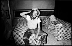 **Bob Marley** Gloucester Road, London, UK, February 1978. ►'Holed up in a rented apartment in London. I deleted his spliff from my pictures in case it got him into trouble, but you can see it in his expression.' (Jill Furmanovsky) ►►More fantastic pictures, music and videos of *Robert Nesta Marley* on: https://de.pinterest.com/ReggaeHeart/ ©Jill Furmanovsky