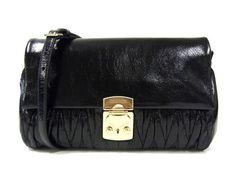 MiuMiu Pochette MATELASSE LUX bag in Nero RP0346