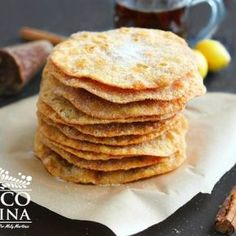 Mexican buñuelos, Visit our site to check out the full recipe. Mexican Pastries, Mexican Sweet Breads, Mexican Bread, Mexican Dishes, Mexican Food Recipes, Sweet Recipes, Mexican Desserts, Sweet Pastries, Mexican Bunuelos Recipe