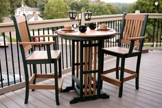 Dutchcrafters Pub Table - Getting a porch and need some outdoor furniture, this would be perfect.