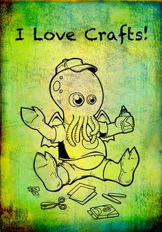: see cuz lovecraft...lol