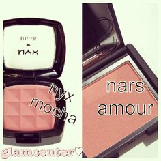 love NARS Amour but for my wallets sake I will give that NYX a shot
