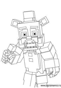 freddy planse de colorat - Căutare Google Minecraft Coloring Pages, Crayola Coloring Pages, Jesus Coloring Pages, Monster Coloring Pages, Free Printable Coloring Pages, Coloring Pages For Kids, Coloring Sheets, Free Coloring, Minecraft Activities
