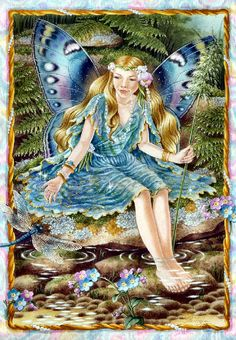 Shirley Barber fairies November