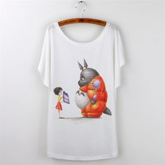 2016 Harajuku T shirt Women t shirt Ladies Tops Summer Batwing Sleeve O Neck Camisetas Mujer Skull Print Casual Tees Oversize-in T-Shirts from Women's Clothing & Accessories on Aliexpress.com   Alibaba Group