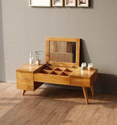 레트로 데스크 화장대(좌식) : 디노데코 #furniture