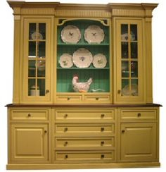Kitchen Hutch and Buffet