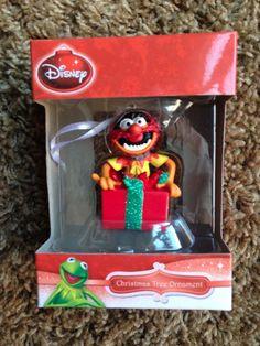 NEW Hallmark Disney Muppets ANIMAL 2014 Christmas Ornament MIB HTF Drummer
