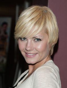 Elisha Cuthbert Pixie - Short Hairstyles Lookbook - StyleBistro