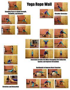 80 iyengar yoga ropes ideas  yoga rope iyengar yoga