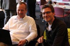 Robert Schumacher, CBO und Jörg Kohler, COO, JNB McCann Health Deutschland