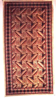 Art Deco wandkleed / tapestry.