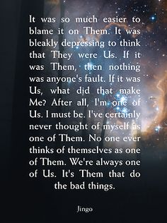 Jingo - Terry Pratchett quote