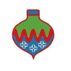 Free Embroidery Design: Ornament