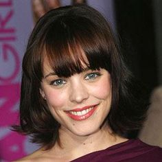 From a curly brunette bob to long blonde layers, Rachel McAdams has worn -- and rocked! -- nearly every hairstyle. See her hair transformation through the years and get inspired for your next hair cut. Teenage Hairstyles, Vintage Hairstyles, Hairstyles With Bangs, Straight Hairstyles, Cool Hairstyles, Rachel Mcadams Hair, Beauty Lookbook, Brunette Bob, Perfect Hair Day