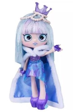 gemma stone shoppe | Shopkins Shoppies Exclusive Gemma Stone doll and 4 shopkin figures