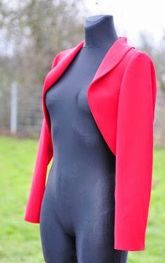 Patrón gratis: chaqueta-bolero (todas las tallas)