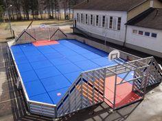 Kleinspielfeld für diverse Sportarten mit Sportboden Multisport