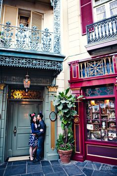 At the door to Club 33