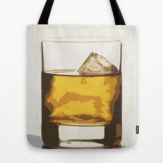 Old Scotch Whiskey Tote Bag by Franco Nico | Society6