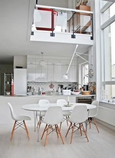 Lovely, White Interiors