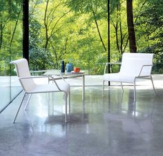 HESPERIDE - Salon de jardin GILI blanc - 399 Euros - Pour les ...