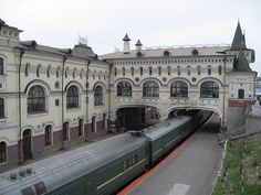 train station built in 1911 in Vladivostok, Russia