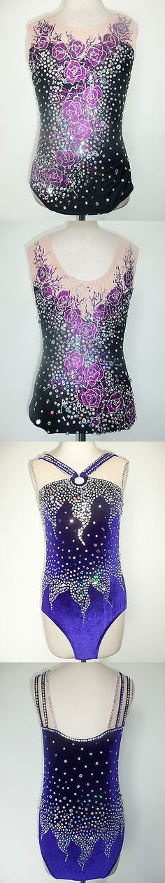 Other Ice Skating 4939: Custom Made Ice Skating Baton Twirling Leotard -> BUY IT NOW ONLY: $170 on eBay!