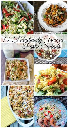 14 Fabulously Unique Pasta Salads