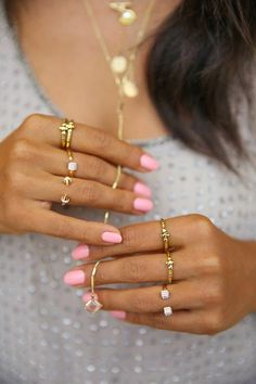 Modern Ways Wear Rings how_to_wear_rings_in