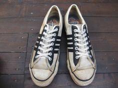 the winner black white colour. Tawan P. Vintage Canvas Shoes . f788a4327
