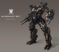 M2 Bradley BOT by ProgV.deviantart.com on @deviantART