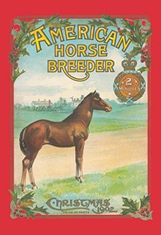 Christmas 1902 – American Horse Breeder, 32×48 Canvas Giclée, Gallery Wrap, Office Size  http://www.fivedollarmarket.com/christmas-1902-american-horse-breeder-32x48-canvas-giclee-gallery-wrap-office-size/
