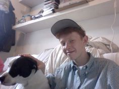 Archy Marshall - King Krule with dog