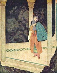 Edmund Dulac «Sinbad the Sailor».