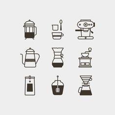 coffee icons | Jason Michael Green