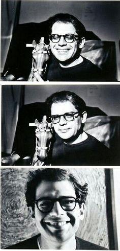 Allen Ginsberg by Chester Kessler.