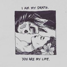 You were my life and now I am my own demise. You could treat me some macchiato on my buymeacoffee link from my bio. I'd be super grateful Skeleton Love, Skeleton Art, Beautiful Dark Art, Dark Love, Illustrations, Illustration Art, Skeleton Drawings, Grunge Art, Dark Art Drawings