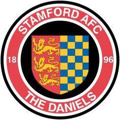 1896, Stamford A.F.C. (England) #StamfordAFC #England #UnitedKingdom (L16480)