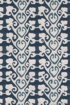 Hand Printed Fabric Design, Mandera by Pintura Studio