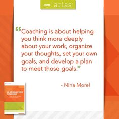 """ASCD author Nina Morel talks about the true meaning of coaching in her ASCD Arias book, """"Learning From Coaching: How do I work with an instructional coach to grow as a teacher?"""""""