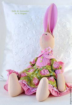 Купить Мисс Элизабет - зайцы, зайка, зайка девочка, зайка тильда, зайка игрушка