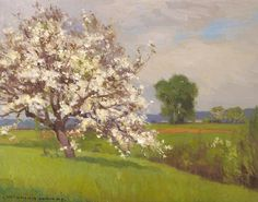 Spring II by William Wendt | Art Posters