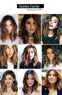 63 stunning examples of brown ombre hair - Hairstyles Trends Ombre Hair, Wavy Hair, Lob Haircut Thick Hair, Medium Hair Styles, Curly Hair Styles, Brown Blonde Hair, Shoulder Length Hair, Bob Hairstyles, Square Face Hairstyles