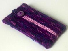 Handytasche (lila, rosa)