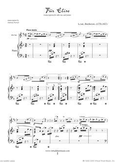 fur elise guitar sheet music pdf