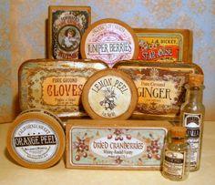 make vintage-style boxes