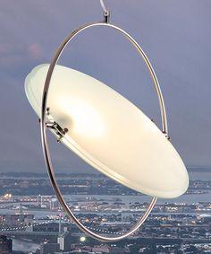 Chrome UFO Ceiling Lamp by Zuo Modern #zulily #zulilyfinds