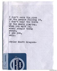 Typewriter Series #832 by Tyler Knott Gregson