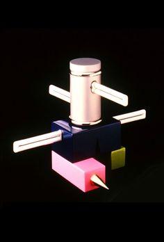 Laurel Lamp for Memphis by Peter Shire Peter Shire, Memphis Design, Give It To Me, House Design, Product Design, Grid, Lamps, Objects, Public